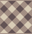 brown checkered seamless background vector image