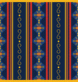 colorful aztec seamless pattern ethnic geometric vector image