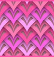 cutout paper texture seamless pattern vector image vector image