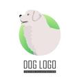 Dog Logo of Maremma Sheepdog Breed Dog vector image vector image