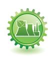 Industrial building vector image vector image