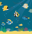 marine life collection2 01 vector image vector image