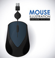 mouse icon design eps10 graphic vector image vector image