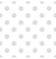 Polka Dot in Grey Gradient Circles of Multiple vector image vector image