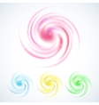 wonderful swirling backdrop space for text vector image vector image