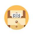 documents simple icon vector image