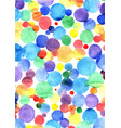 Colorful rainbow watercolor hand painting