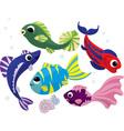 fish vector image vector image