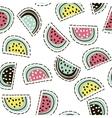 modern fruit seamless pattern background vector image vector image