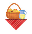 picnic image vector image vector image