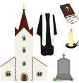 Religion symbols vector image vector image