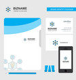 share idea business logo file cover visiting card vector image