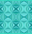 turquoise abstract hypnotic seamless striped vector image vector image