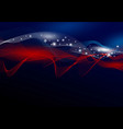 usa abstract background design american flag vector image vector image