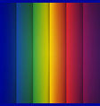 Abstract rainbow rectangle shapes background vector image vector image