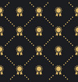 award badge seamless pattern vector image vector image
