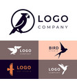 branding for travel zooshop or other company vector image vector image