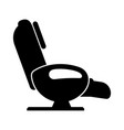 massage chair vector image vector image
