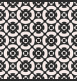 monochrome ornament texture seamless pattern vector image vector image