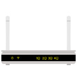 Realistic router vector image vector image