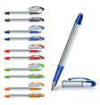 writing pen vector image vector image