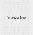 abstract white boxes background vector image