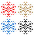 30 off discount sticker snowflake 30 off sale vector image vector image