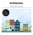 Architecture background Cityscape 1 vector image