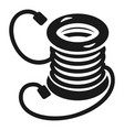 electro extension coil icon simple style vector image