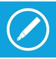 Ink pen sign icon vector image vector image