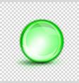peptide green drop molecule essence vector image vector image