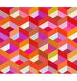 seamless colorful vivid geometric blocks vector image