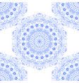 seamless texture pattern blue lace vector image vector image