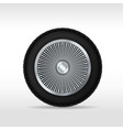 wire wheel vector image vector image