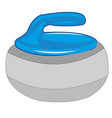 atheletic projectile curling vector image