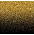 background with gold gradient texture on black vector image
