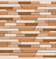 brick textures background in shades of brown and vector image