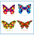 Butterfly8 vector image vector image