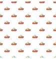 Cargo ship pattern cartoon style vector image vector image