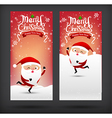 Collection of merry christmas card template with