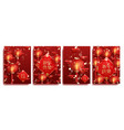 happy chinese new year festive posters vector image vector image