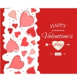 Happy Valentine s Day lettering Greeting Card