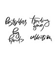 lettering or calligraphy vector image