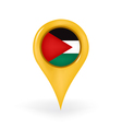 Location Palestine vector image vector image