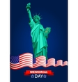 Patriotic United States of America vector image vector image
