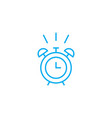 time to wake up linear icon concept time to wake vector image vector image