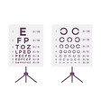 sight check table vector image