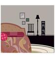 Bedroom Background vector image