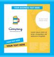 beer glass company brochure template busienss vector image vector image