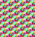 bright Triangle pattern vector image vector image